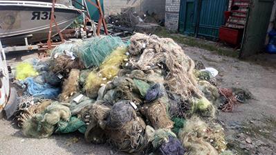 На Миколаївщині утилізовано понад 2 тис. од. безхазяйних знарядь лову